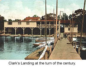 Clark's Landing at the turn of the century